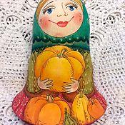 Куклы и игрушки ручной работы. Ярмарка Мастеров - ручная работа авторская матрешка неваляшка Урожай. Handmade.