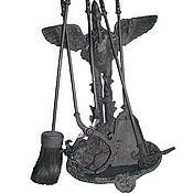 Для дома и интерьера ручной работы. Ярмарка Мастеров - ручная работа Набор для камина. Handmade.