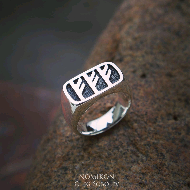 """Рунический перстень """"Венчание с деньгами"""", Оберег, Санкт-Петербург,  Фото №1"""