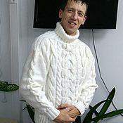 """Одежда ручной работы. Ярмарка Мастеров - ручная работа Мужской свитер """"Аполлон"""". Handmade."""