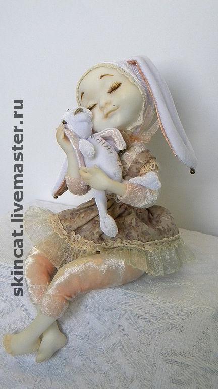 Коллекционные куклы ручной работы. Ярмарка Мастеров - ручная работа. Купить Девочка. Handmade. Оригинальный подарок, бархат