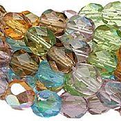Материалы для творчества handmade. Livemaster - original item 20 PCs 4mm Beads mix Prairie Fire Polished Czech glass beads. Handmade.