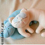 Для дома и интерьера ручной работы. Ярмарка Мастеров - ручная работа Подушка-кот. Handmade.