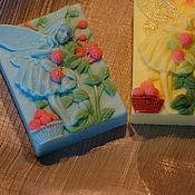 """Косметика ручной работы. Ярмарка Мастеров - ручная работа Мыло """"Земляничная фея"""". Handmade."""