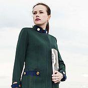 Одежда handmade. Livemaster - original item Designer jacket. Green color. Military style jacket.. Handmade.