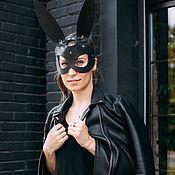 Субкультуры handmade. Livemaster - original item Leather mask