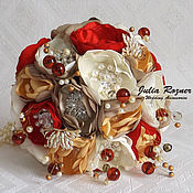 Свадебный салон handmade. Livemaster - original item Copy work Brooch-bouquet