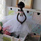 Куклы и игрушки ручной работы. Ярмарка Мастеров - ручная работа Балерина-Принцесса Шоколадка. Handmade.