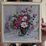 """Фотокартины ручной работы. Ярмарка Мастеров - ручная работа Картина """"Космея"""". Handmade."""