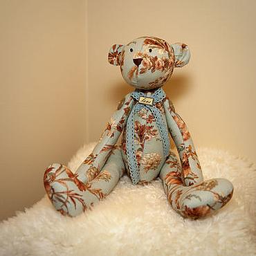 Куклы и игрушки ручной работы. Ярмарка Мастеров - ручная работа Винтажный мишка с стиле Тильда. Handmade.
