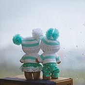 Куклы и игрушки ручной работы. Ярмарка Мастеров - ручная работа Осенние Мишки. Handmade.