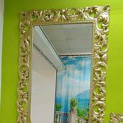 Для дома и интерьера ручной работы. Ярмарка Мастеров - ручная работа Зеркало в декоративной раме. Handmade.