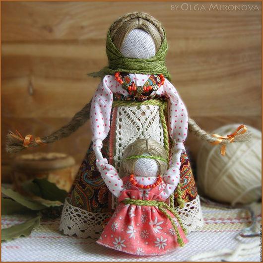 Народные куклы ручной работы. Ярмарка Мастеров - ручная работа. Купить Ведучка. Handmade. Ведучка, тряпичная кукла, обережная кукла