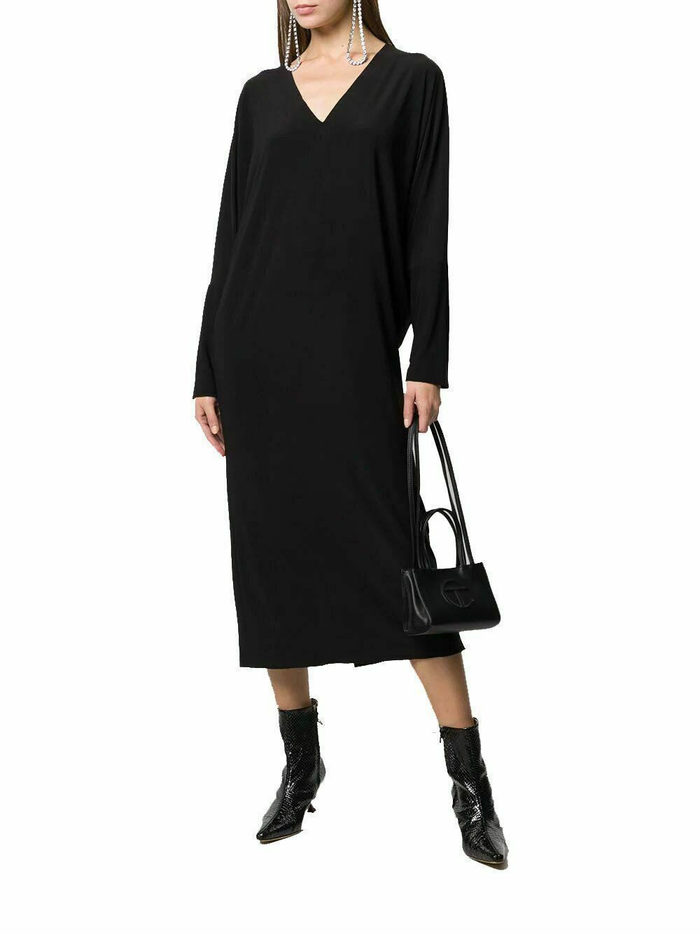 Черное длинное повседневное платье, Платья, Оренбург,  Фото №1