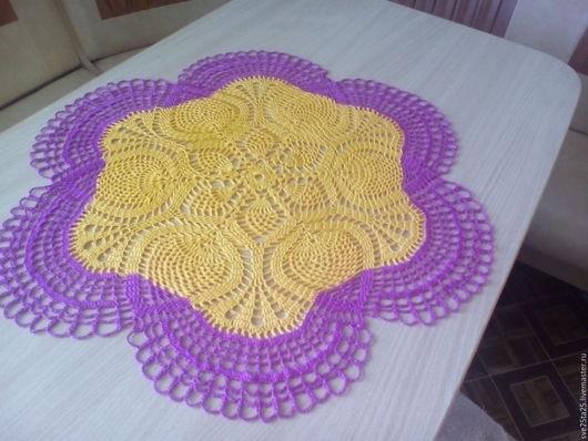 Текстиль, ковры ручной работы. Ярмарка Мастеров - ручная работа. Купить мини скатерть. Handmade. Салфетка для декупажа, скатерть маленькая