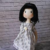 Куклы и игрушки ручной работы. Ярмарка Мастеров - ручная работа Текстильная игровая, интерьерная Кукла. Handmade.