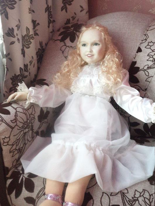 Портретные куклы ручной работы. Ярмарка Мастеров - ручная работа. Купить кукла по фото. Handmade. Белый, Праздник