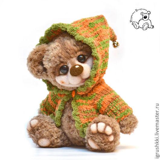 Мишки Тедди ручной работы. Ярмарка Мастеров - ручная работа. Купить Медвежонок Барни (НАШЕЛ МАМУ). Handmade. Коричневый, игрушка
