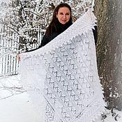 Shawls1 handmade. Livemaster - original item Down scarf