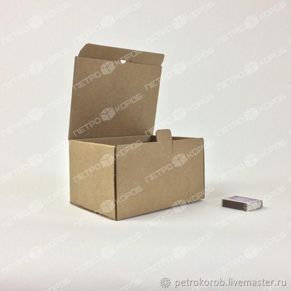 17х13х10см Самосборная коробка бурая, Коробки, Санкт-Петербург,  Фото №1