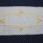 Винтаж handmade. Livemaster - original item Vintage embroidered track. Handmade.