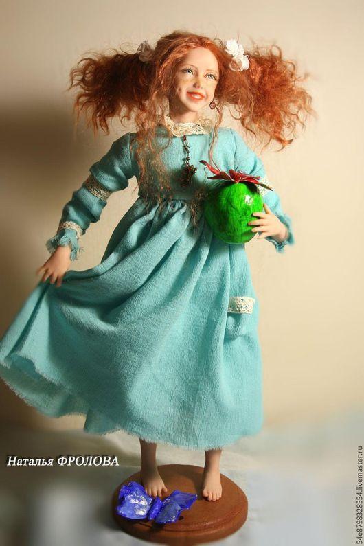 Коллекционные куклы ручной работы. Ярмарка Мастеров - ручная работа. Купить Августинка 3. Handmade. Комбинированный, бизнес-подарок, мохер