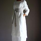 Одежда ручной работы. Ярмарка Мастеров - ручная работа Комплект - Платье, верхнее платье, кушак. Handmade.