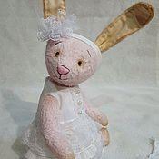 Куклы и игрушки ручной работы. Ярмарка Мастеров - ручная работа Розовая Зайка. Handmade.