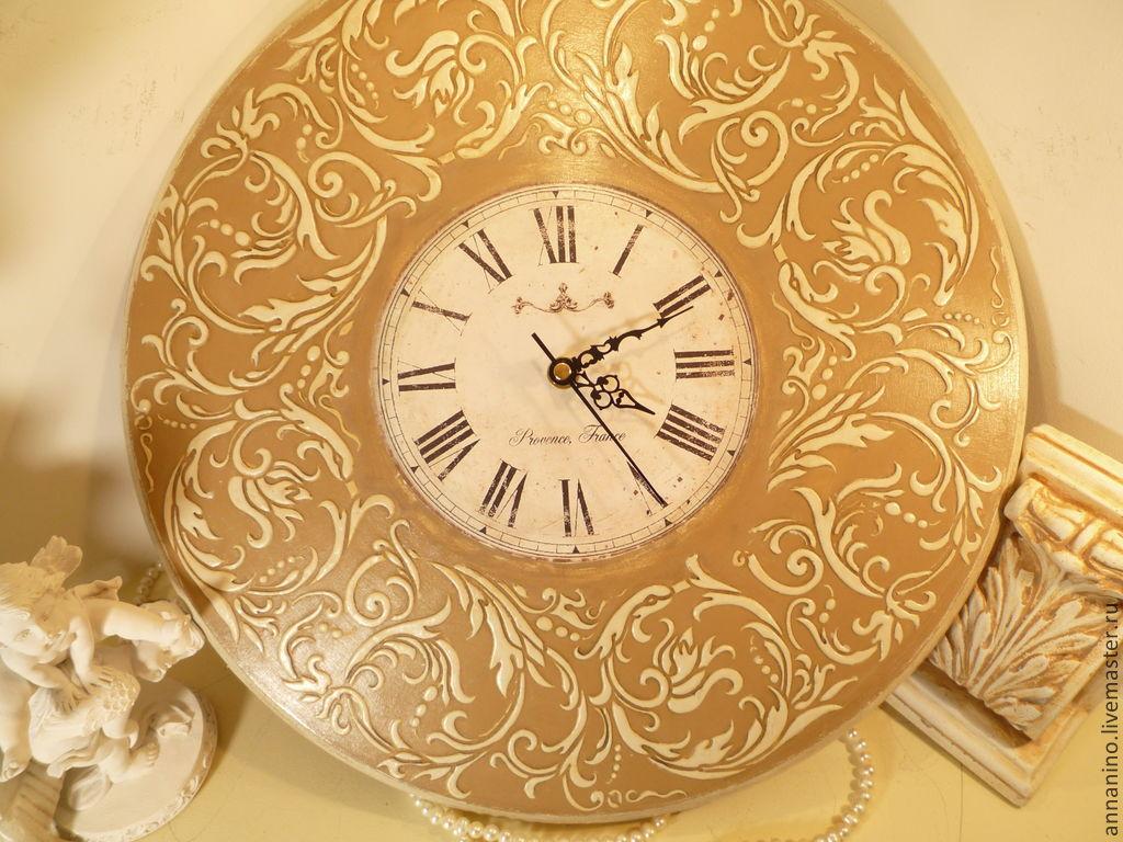 3a3da90c2948 Ярмарка Мастеров - ручная работа. Купить Настенные часы Вальс Часы для дома  ручной работы. Настенные часы Вальс Крем Брюле. Творческая мастерская   Афина ...