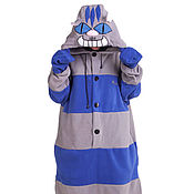 Субкультуры handmade. Livemaster - original item Costume kigurumi Cheshire cat Night NIGHT CHESHIRE CAT KIGU. Handmade.