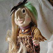 Куклы и игрушки ручной работы. Ярмарка Мастеров - ручная работа Молодая Ягулечка кукла валяная. Handmade.