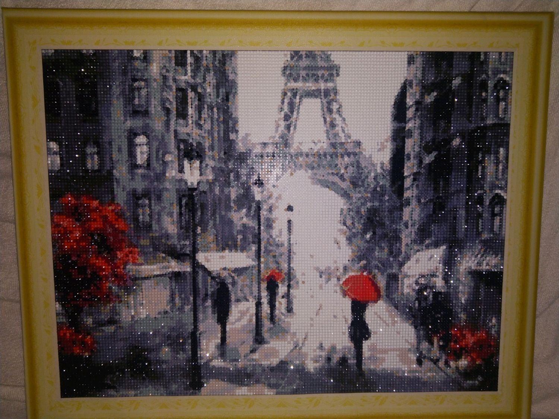 Алмазная мозаика : Париж, Картины, Пятигорск,  Фото №1