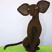 Куклы и игрушки ручной работы. Ярмарка Мастеров - ручная работа Ориентальная шоколадная кошка. Handmade.