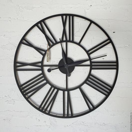 """Часы для дома ручной работы. Ярмарка Мастеров - ручная работа. Купить Часы 60см с увеличенными стрелками """"Rooma"""". Handmade. Часы"""
