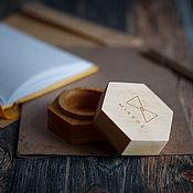 Box1 handmade. Livemaster - original item Wooden boxes. Handmade.