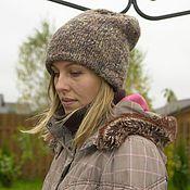 Аксессуары handmade. Livemaster - original item Hat beanie Newcastle double. Handmade.
