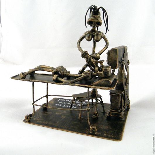 Миниатюрные модели ручной работы. Ярмарка Мастеров - ручная работа. Купить Мастер жОстких экстубаций (Анестезиолог). Handmade. Скульптурная миниатюра