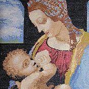 Картины и панно ручной работы. Ярмарка Мастеров - ручная работа Мадонна с младенцем. Handmade.