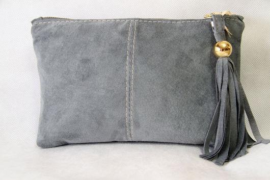 Handbags handmade. Livemaster - handmade. Buy The clutch art.S22R74.Author clutch, natural suede