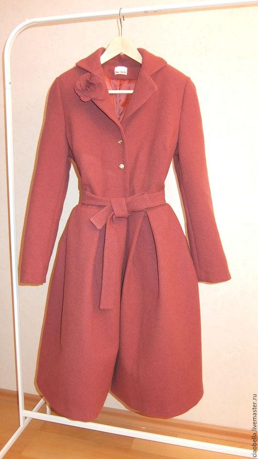 """Верхняя одежда ручной работы. Ярмарка Мастеров - ручная работа. Купить Пальто """"La vie en rose"""" осень/зима. Handmade."""