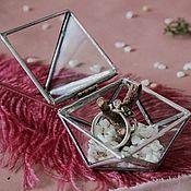handmade. Livemaster - original item Wedding box for rings. Handmade.