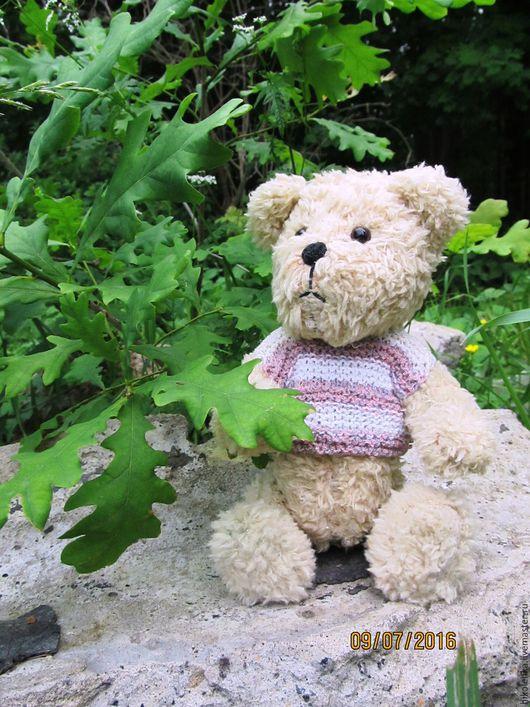 Мишки Тедди ручной работы. Ярмарка Мастеров - ручная работа. Купить Мишка тедди Штрудель. Handmade. Бежевый, плюшевый медведь
