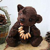 Куклы и игрушки ручной работы. Ярмарка Мастеров - ручная работа мишка-тедди Баранкин.. Handmade.