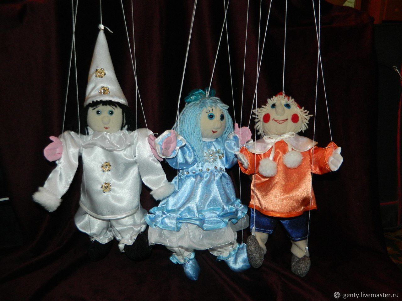 Кукла на веревочках своими руками фото 495