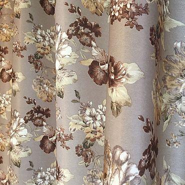 Текстиль ручной работы. Ярмарка Мастеров - ручная работа Шторы Любава. Handmade.