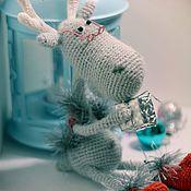 Куклы и игрушки ручной работы. Ярмарка Мастеров - ручная работа Олень новогодний. Handmade.