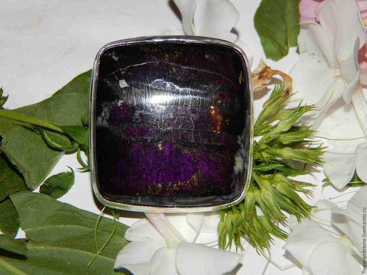 """Кольца ручной работы. Ярмарка Мастеров - ручная работа. Купить Кольцо """"Пурпурная роза"""" из пурпурита. Handmade. Комбинированный"""