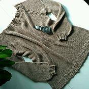 Одежда handmade. Livemaster - original item Long cardigan made of Italian cotton/viscose. Handmade.