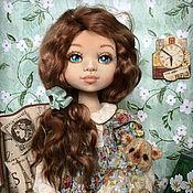 Куклы и игрушки ручной работы. Ярмарка Мастеров - ручная работа Изабель. Коллекционная текстильная кукла. Handmade.
