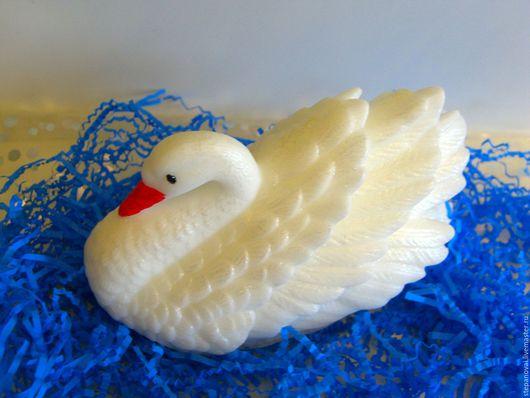 Мыло ручной работы. Ярмарка Мастеров - ручная работа. Купить Мыло ручной работы-Лебедь 3D. Handmade. косметические отдушки